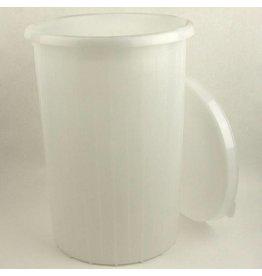 12 Gallon Plastic Fermenter with Lid