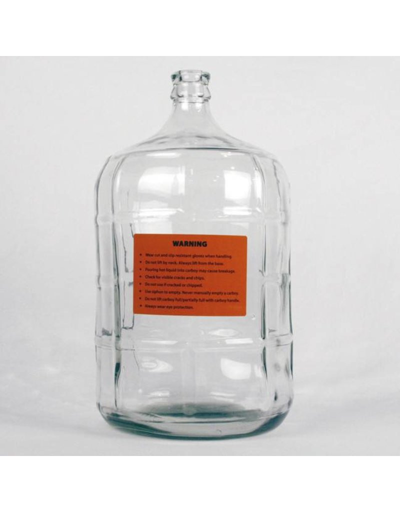 5 Gallon Italian Glass Carboy