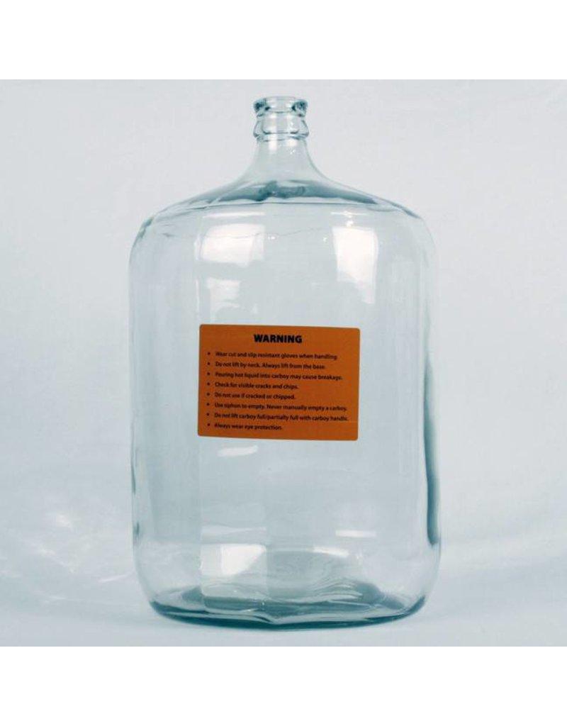 6 1/2 Gallon Italian Glass Carboy
