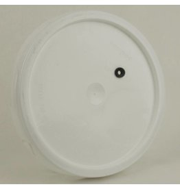 Lid for 5 or 6 gallon pail, drilled