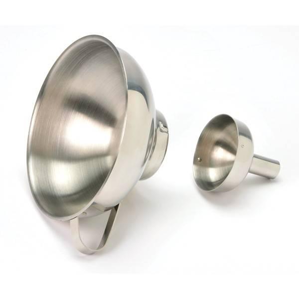 Norpro S/S Funnel w/ Spout 2PC