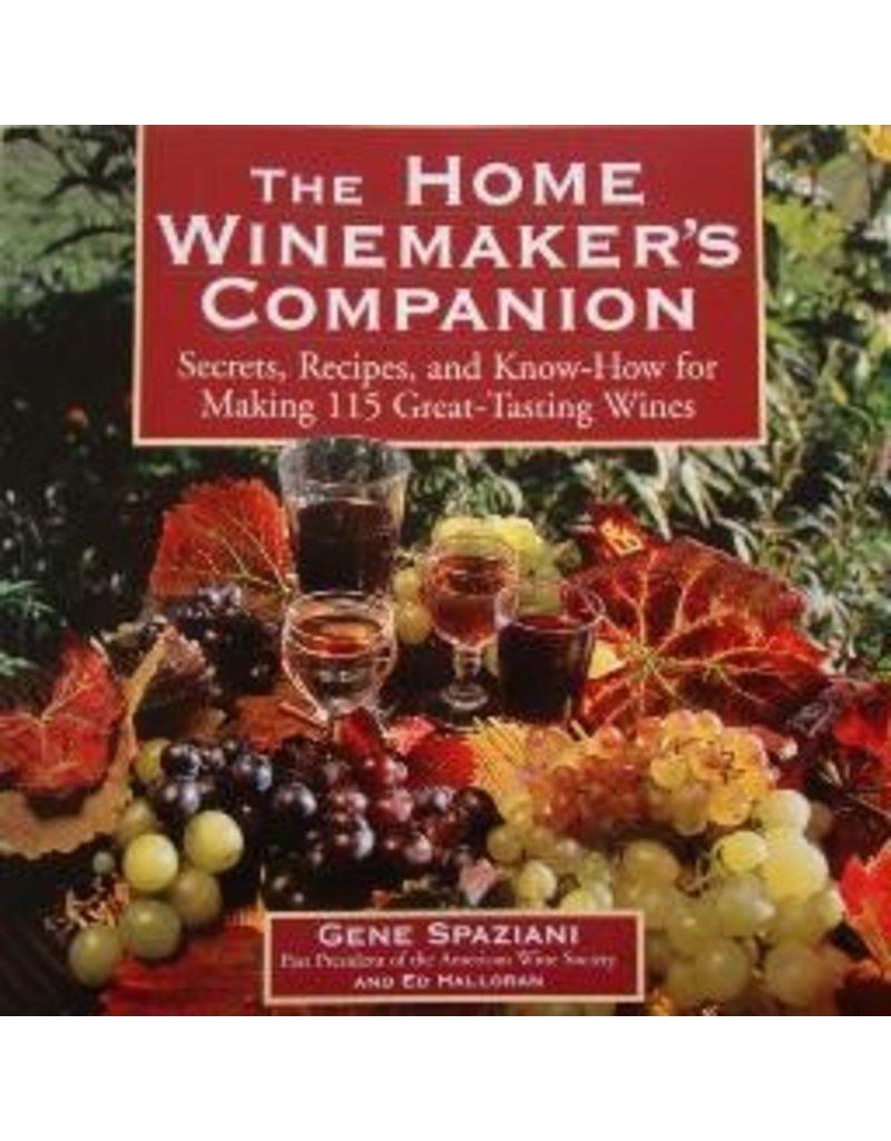 Home Winemakers Companion-Spaziani
