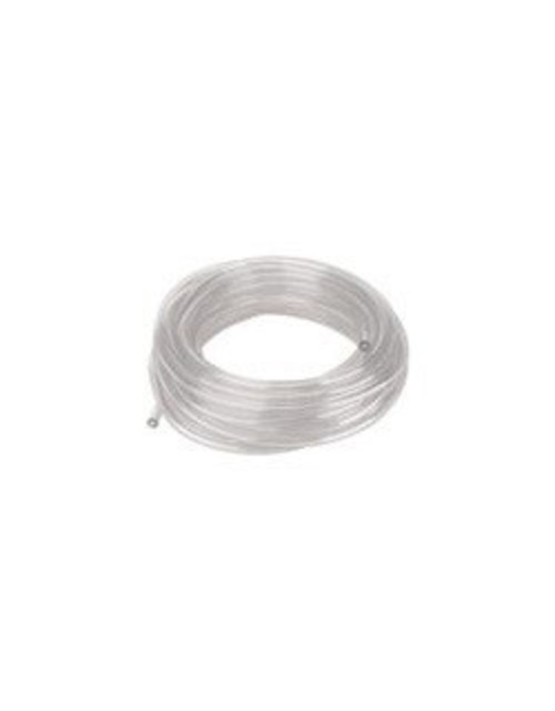 "Clear Vinyl Tubing, Draft,  3/16"" ID, Foot"