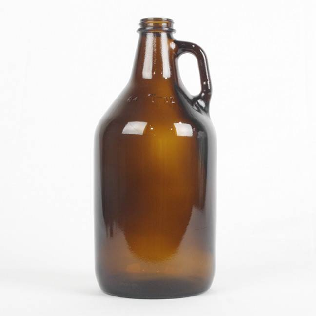 Amber Growlers, 64 oz - Case/6