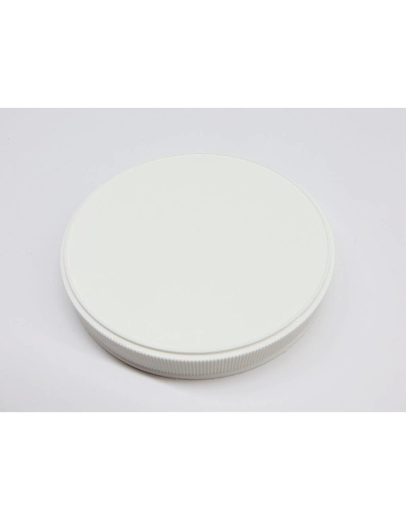 110-400 White Plastic Jar Lid
