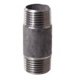 Stainless Nipple - 1/2 in x 2 in Threaded