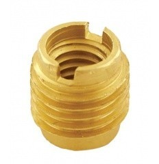 Dual-Threaded Insert for Wooden Taphandles