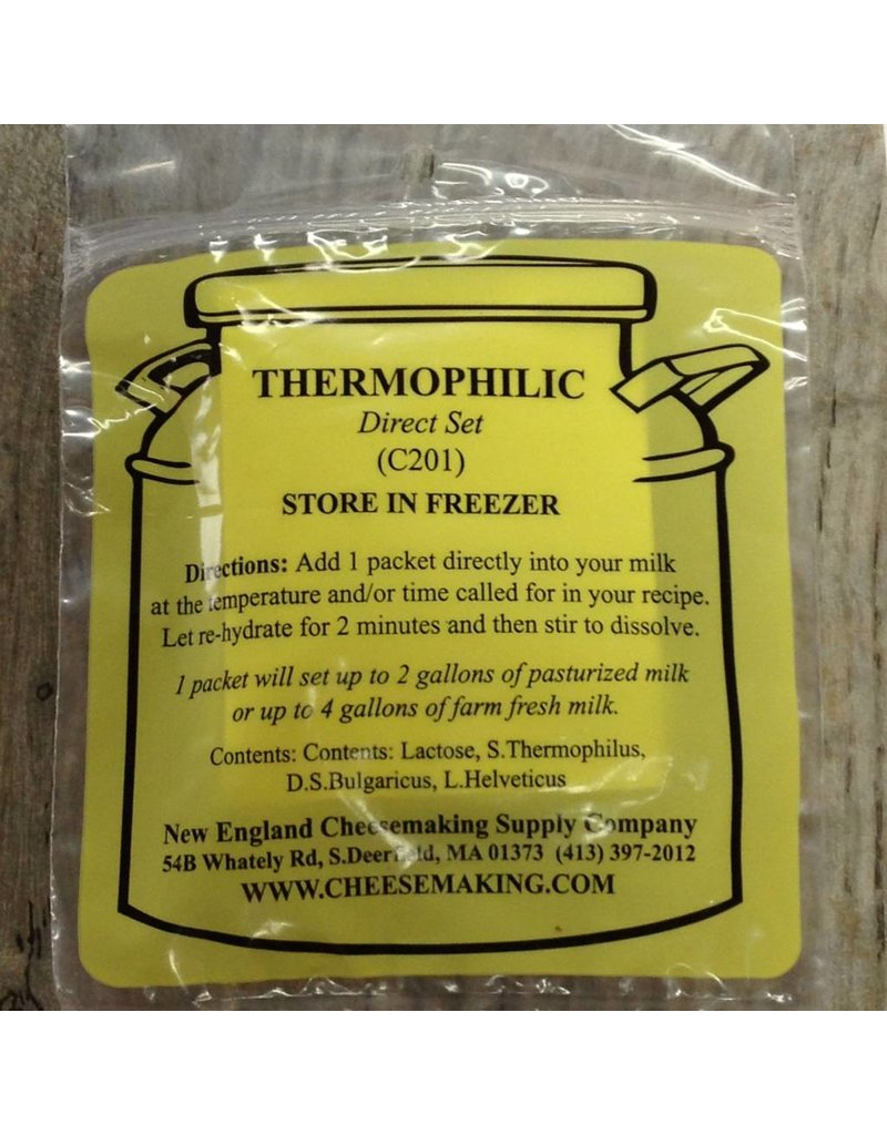 New England Cheesemaking Thermophilic Culture