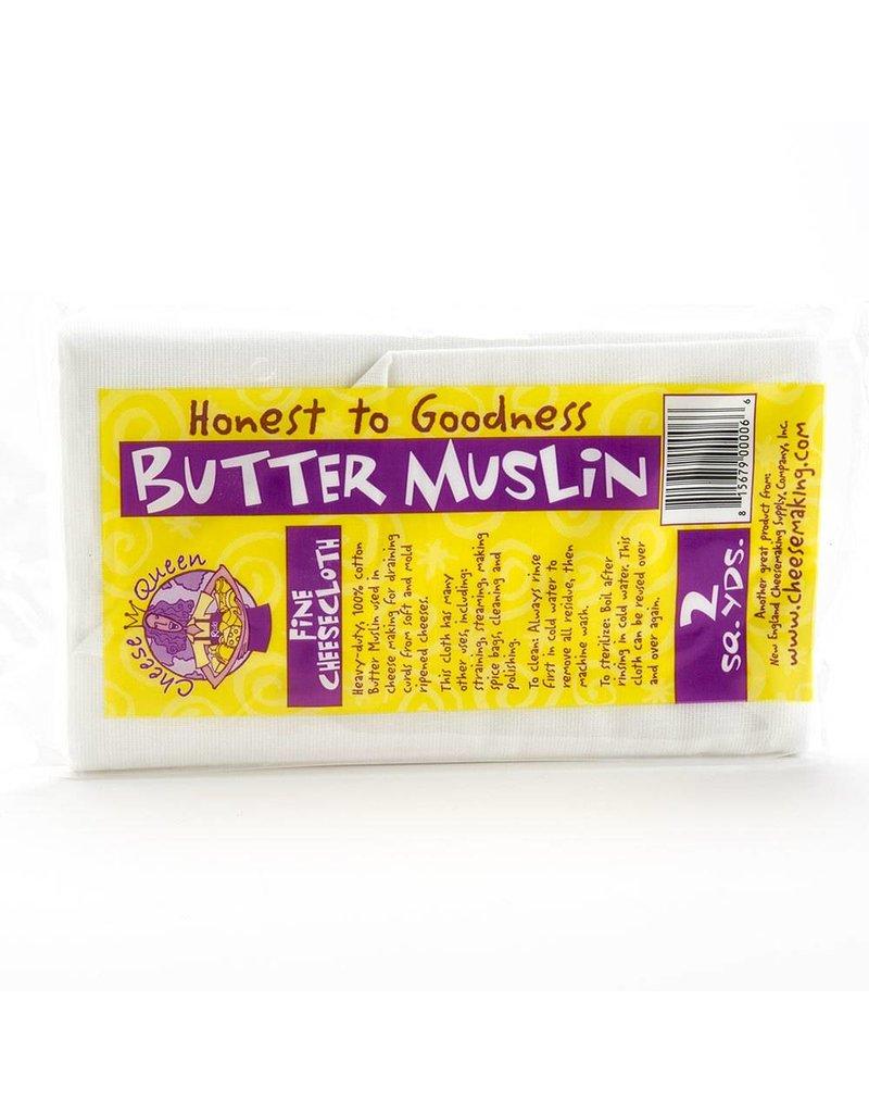 New England Cheesemaking Butter Muslin 2 yds.