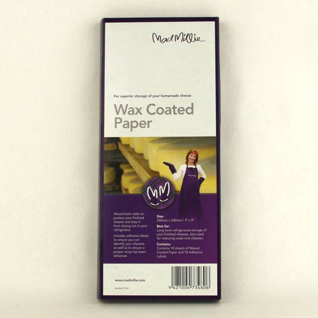 Mad Millie Wax Coated Paper 240 x 240 (10 pack)
