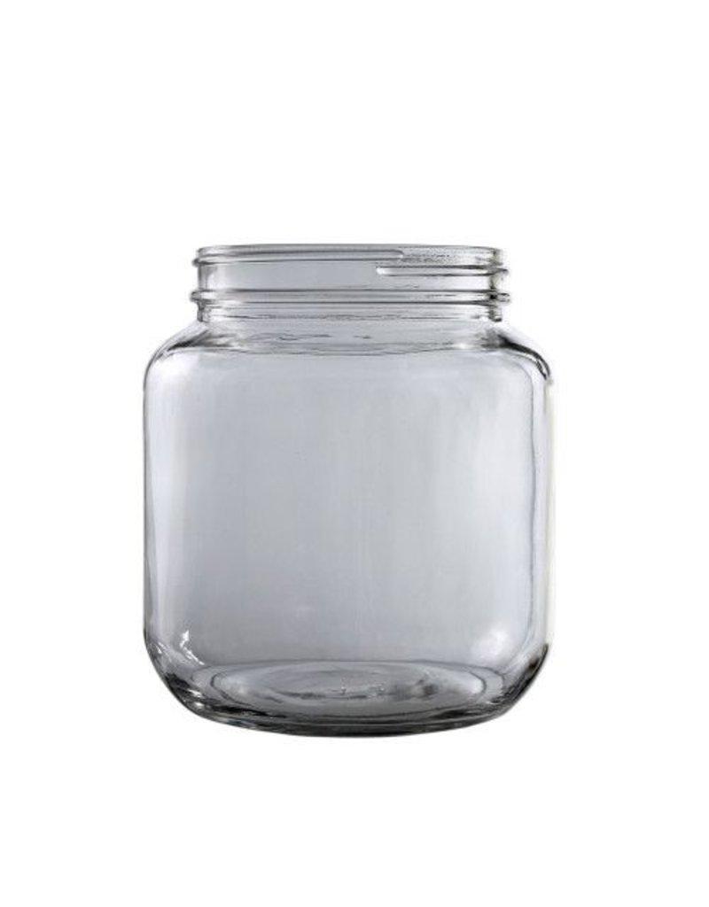 1/2 Gallon Glass Jar cs/6