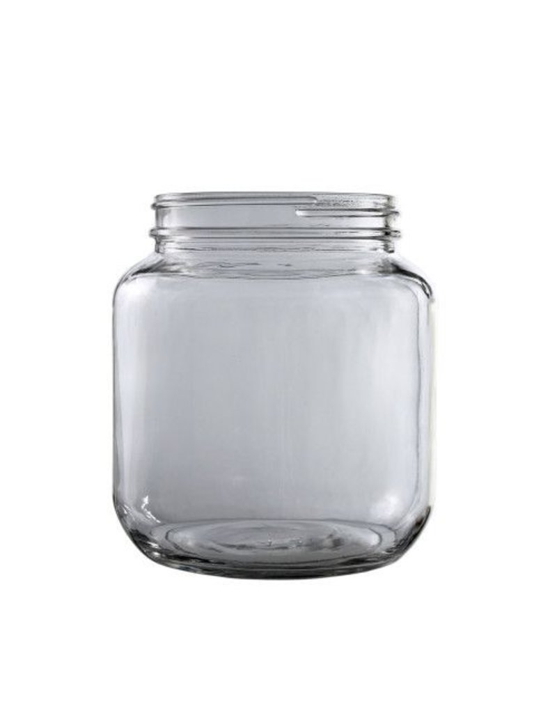 1/2 Gallon Glass Jar