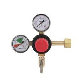 TapRite Taprite CO2 Regulator, Dual Gauge, 5/16 Shutoff Barb