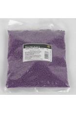 Bottle Wax Beads - Purple - 1 LB / 453.59g Package