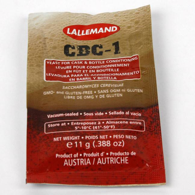 Lallemand Danstar CBC-1 Cask and Bottle Conditioned Beer Yeast - 11 g - Each