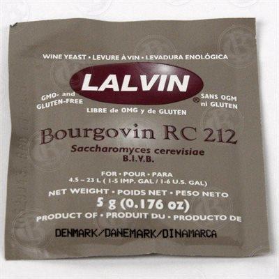 Lalvin Lalvin RC212 Wine Yeast 5 g