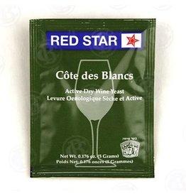 Red Star Cote de Blanc Wine Yeast, 5 gm - Red Star