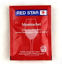 Red Star Montrachet Wine Yeast, 5 gm - Red Star