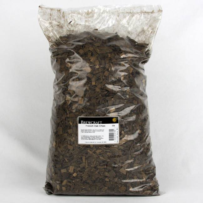 5 LB - French Oak Chips, Medium