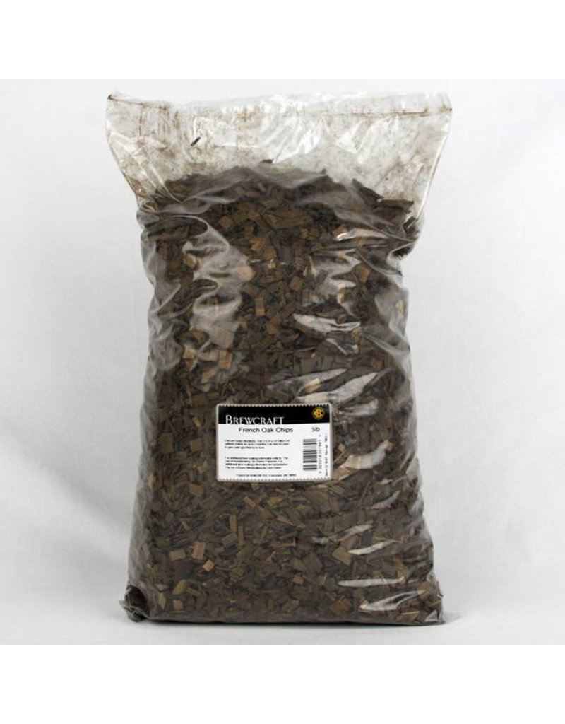 5 LB - French Oak Chips, Medium
