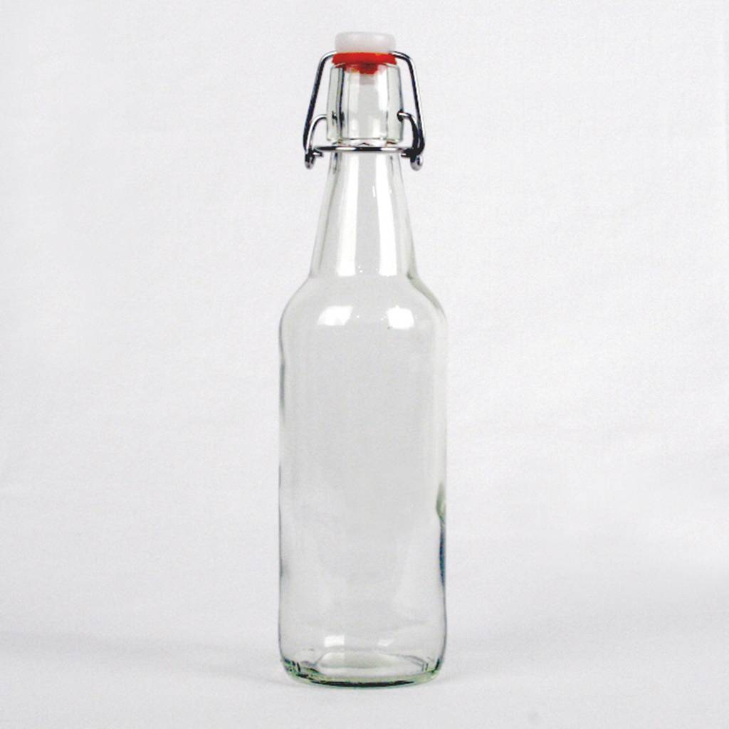 Clear Flip Top, 16 oz. - Case/12