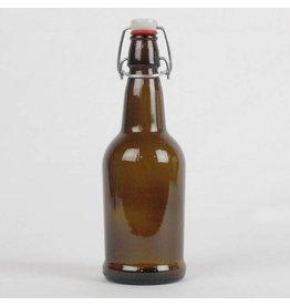 Amber EZ Cap 16 oz Bottle