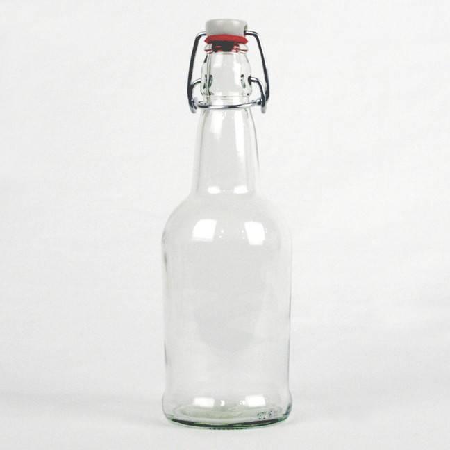 Clear EZ Cap Bottle 16 oz.