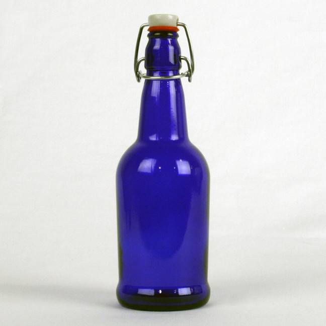 Blue, EZ Cap, 16oz. Bottle, cs/12