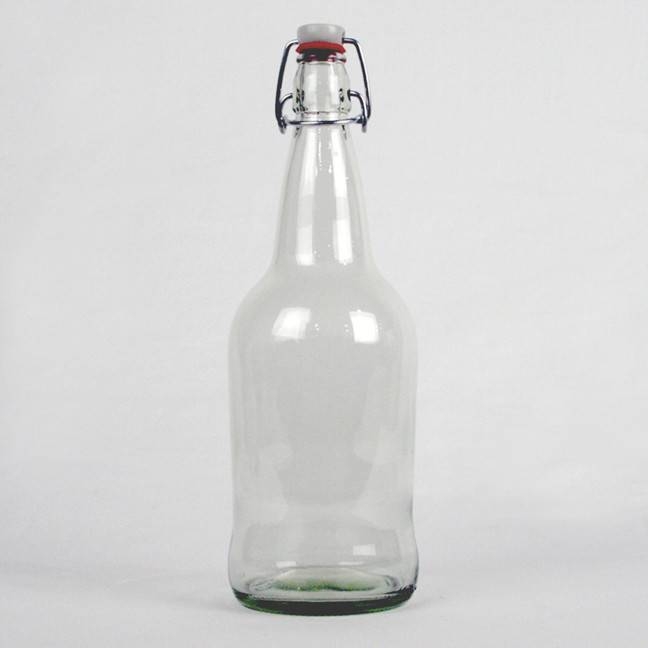 Clear EZ Cap Bottle, 1 L