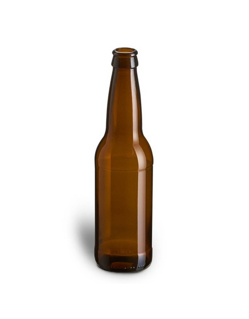 Beer Bottles, 12 oz., Brown - Case/24