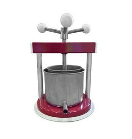 Fruit Press 12 cm, 1.3 L Aluminum/Stainless Steel