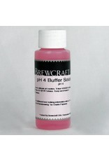 Ph 4 Buffer Solution - Individual 2 oz