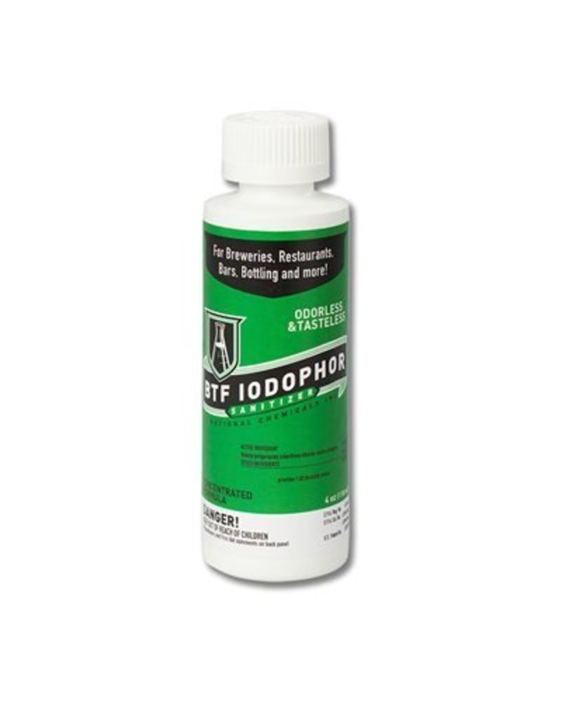 4 oz. - BTF Iodophor Sanitizer