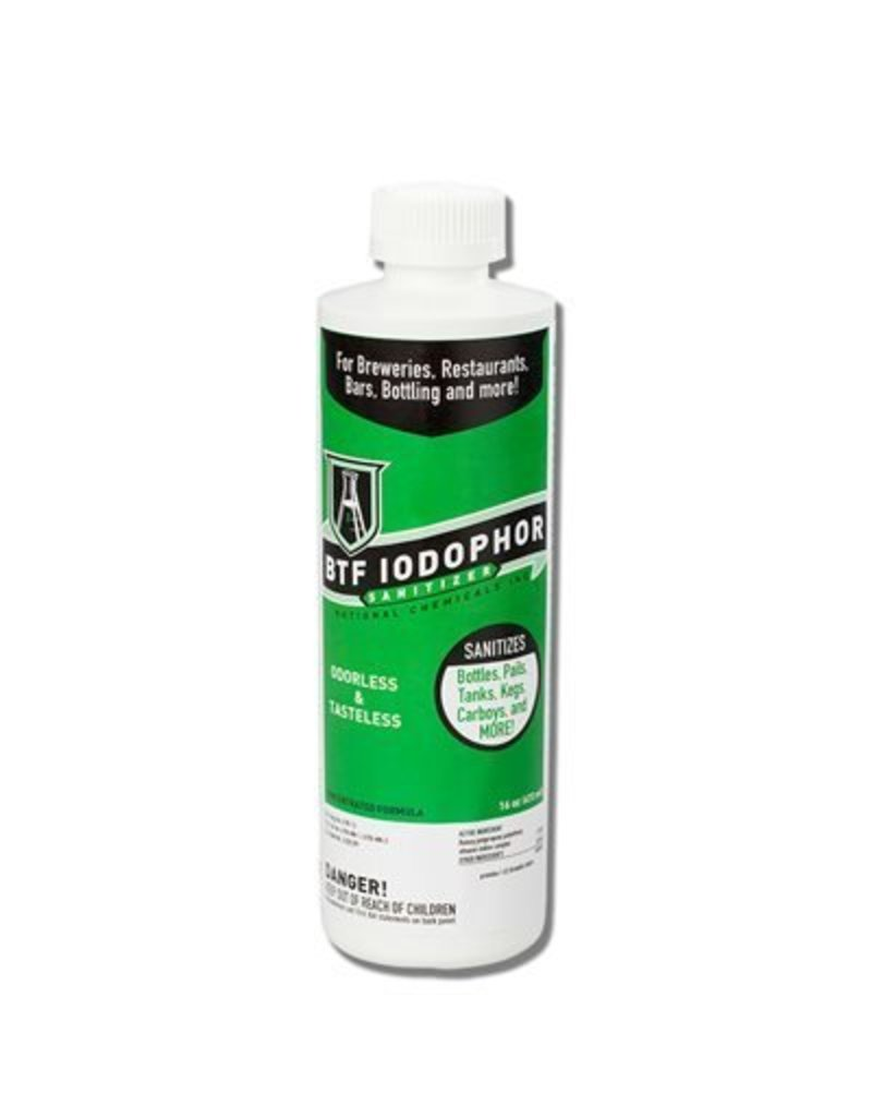 16 oz. - BTF Iodophor Sanitizer