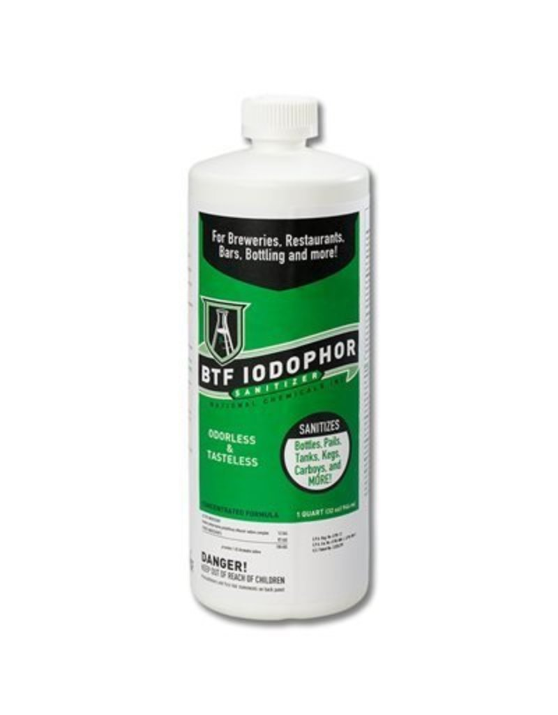 32 oz. -  BTF Iodophor Sanitizer