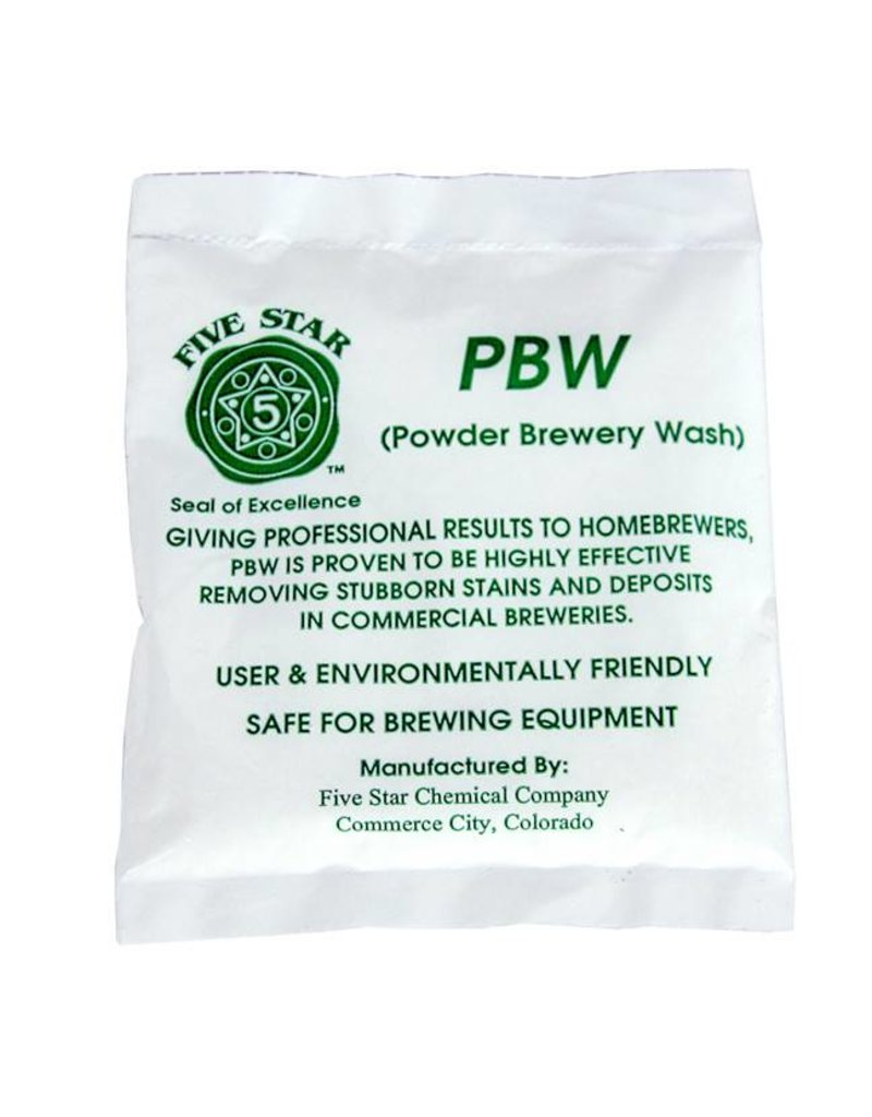 PBW Powdered Brewery Wash - 2 oz Package