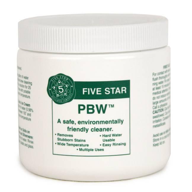 Five Star Chemicals PBW 1 LB / 453.59g JAR / 0.4535 KG Bag