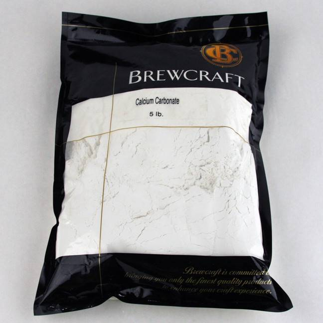 Calcium Carbonate - 5 LB / 2.268 kg Package