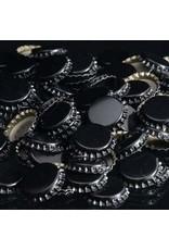 144 each - Black Oxy Bottle Caps