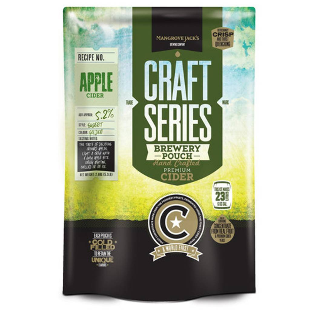 Mangrove Jack's Craft Series Apple Cider Pouch 2.4 kg