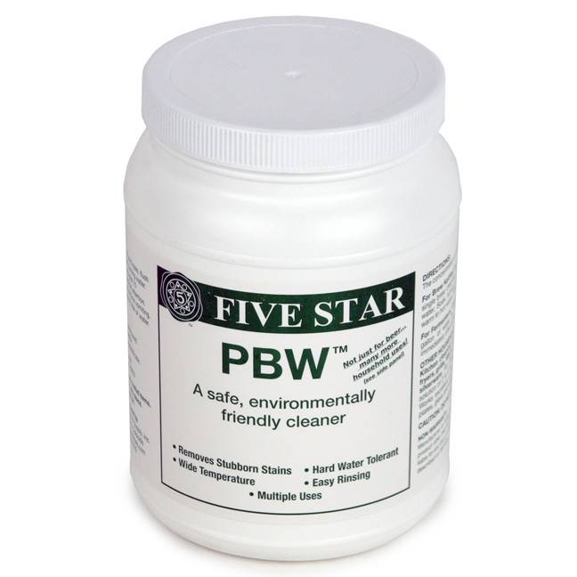 Five Star Chemicals PBW 4LB JAR
