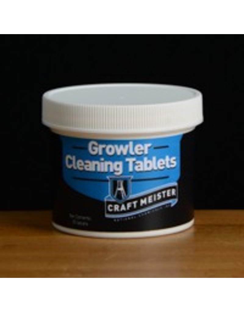 25 Count - CraftMeister Growler Tablets