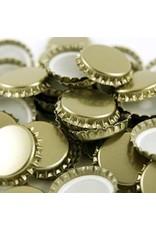 29 mm Gold Crown Caps, Bag of 100