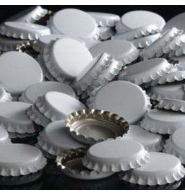 144 each- White Bottle Caps