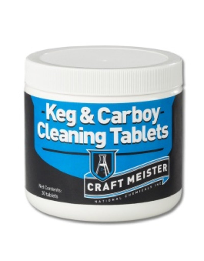 30 tabs - Keg & Carboy Cleaning Tablets