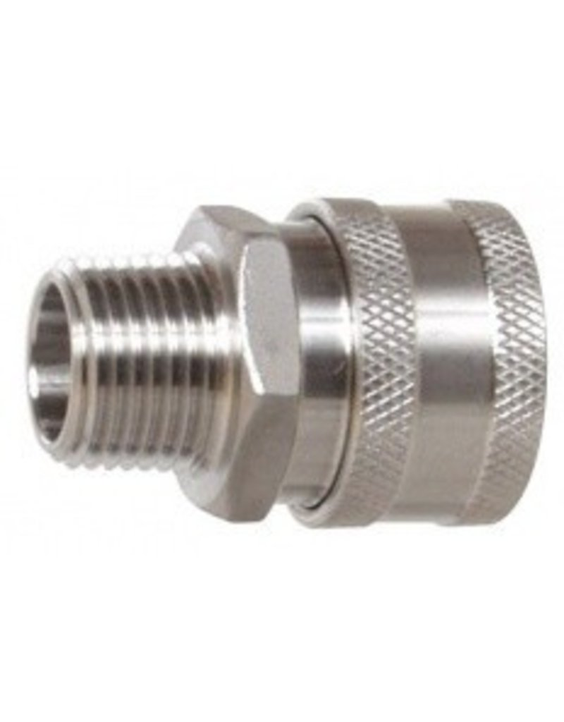 Female Stainless Steel Quick Disconnect w/ MPT