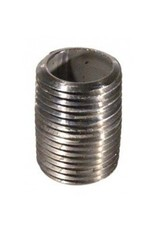 "1/2"" x 1"" SS Nipple, Threaded Close"