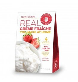 Cultures For Health Creme Fraiche Culture (direct-set w/ rennet)