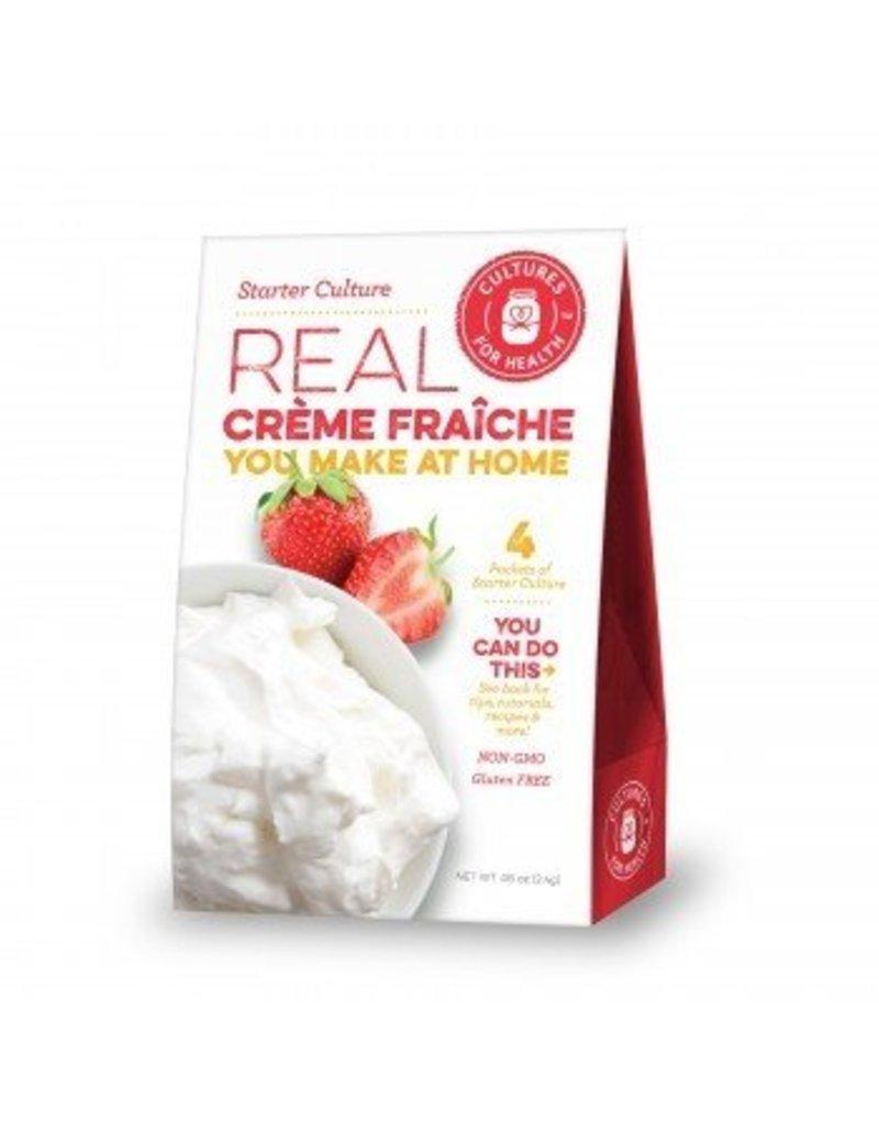 Cultures For Health Creme Fraiche Culture (direct-set w/ rennet)