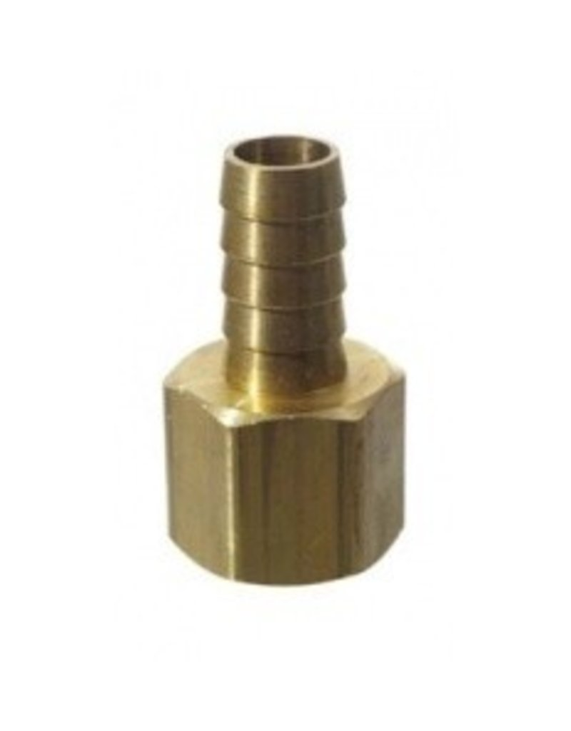 Brass - 1/2 in FPT x 1/2 in Barb